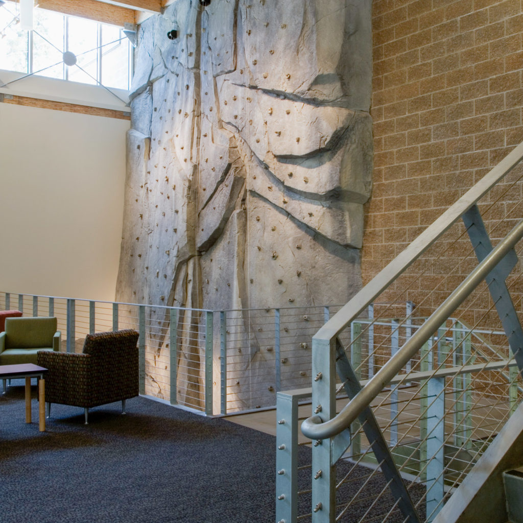 South Bellevue Community Center Climbing Wall