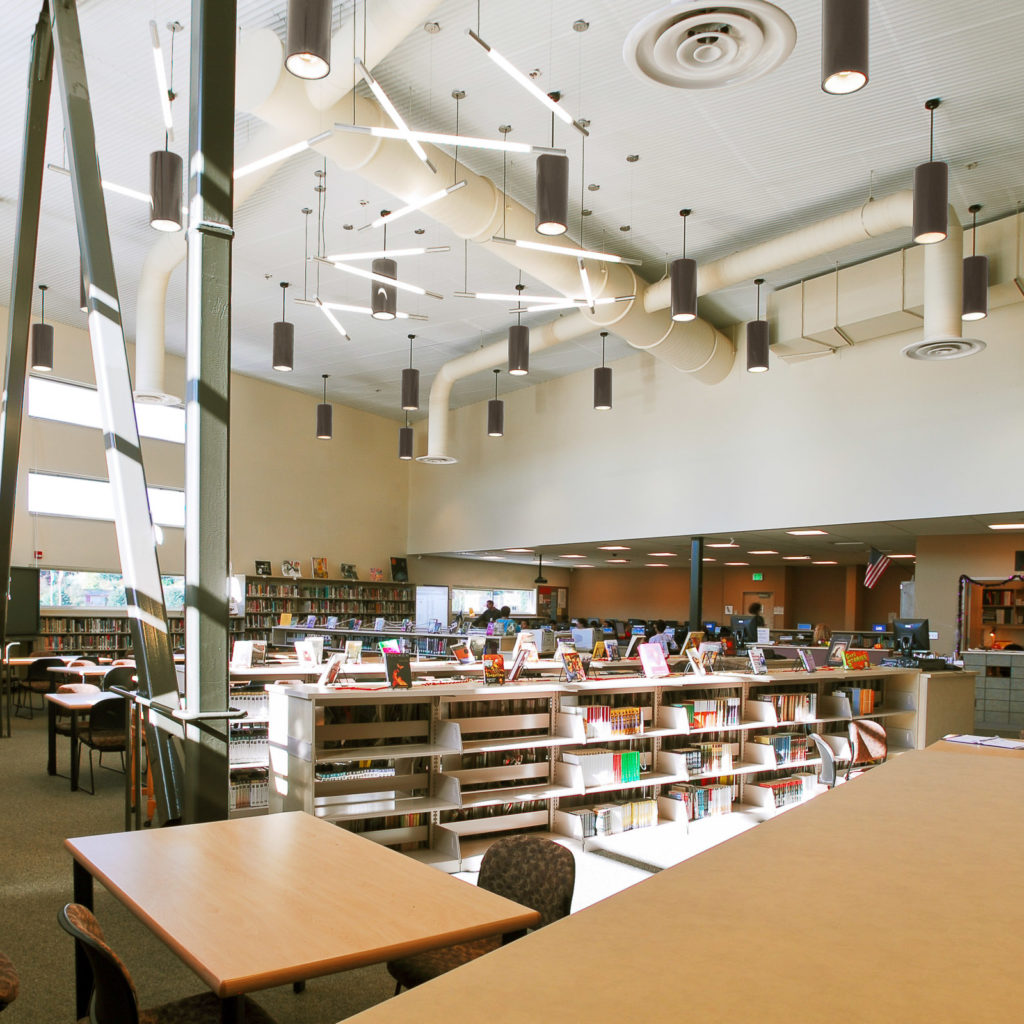Newport High School Library [NAC|Architecture]