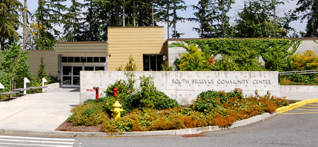 South Bellevue Community Center | Front Entrance