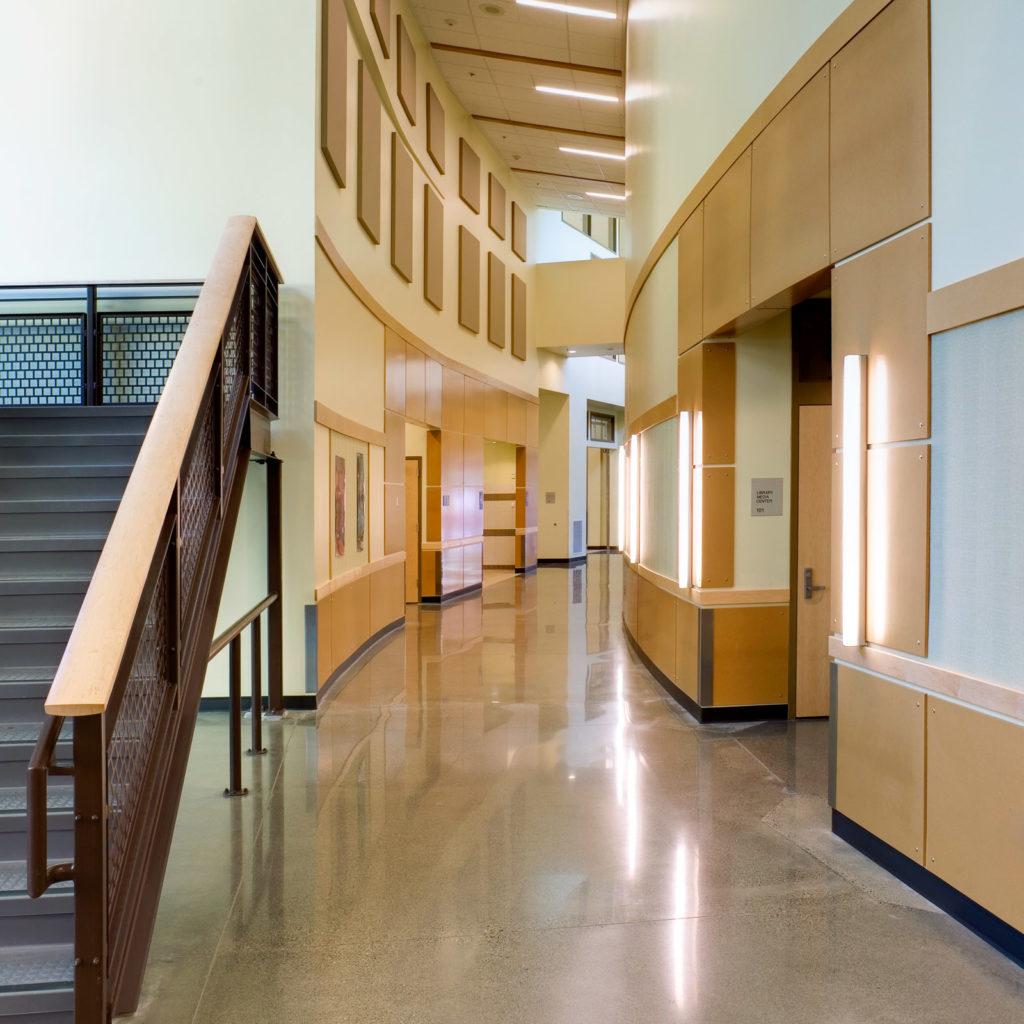 Robert Frost Elementary Hallway