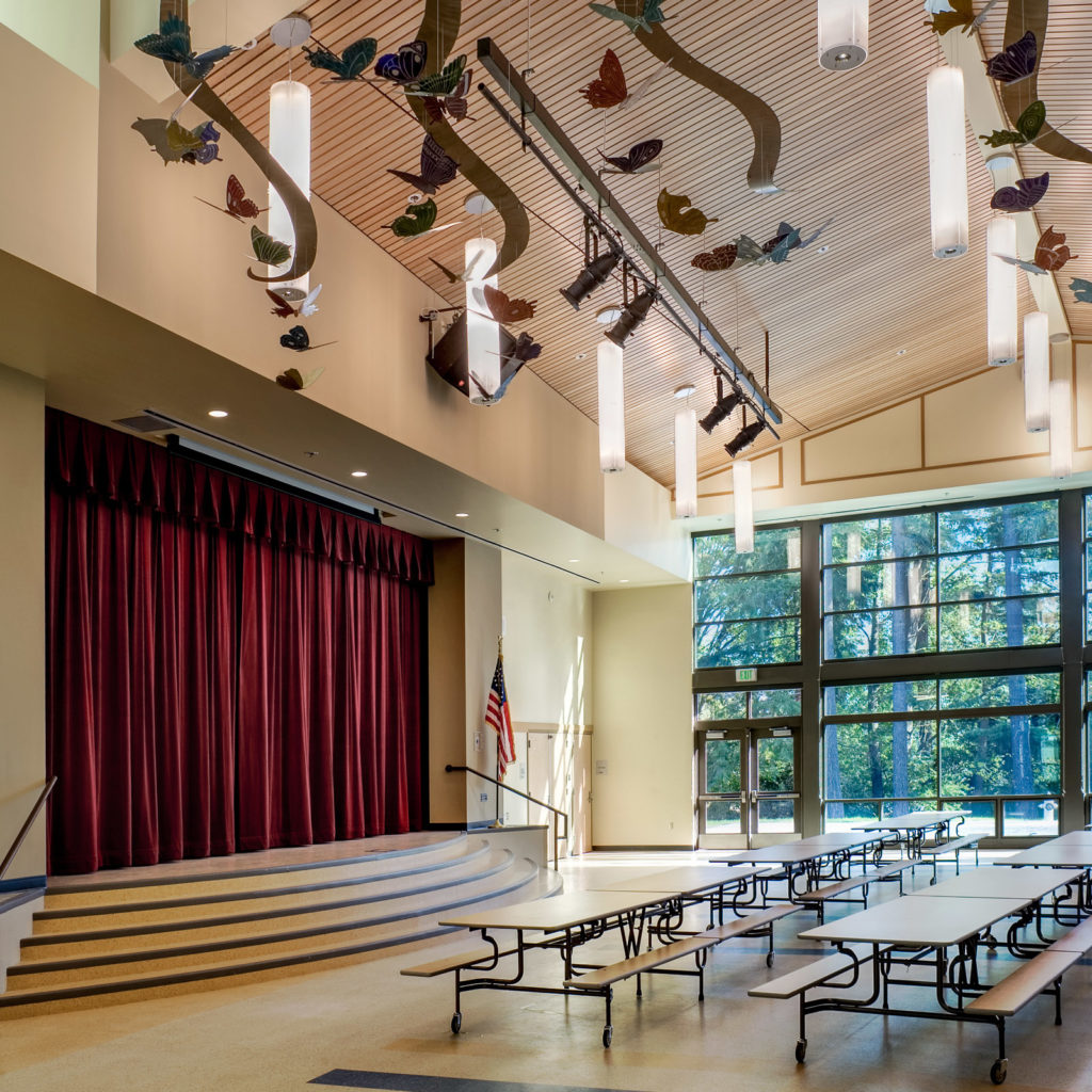 Robert Frost Elementary Music Room