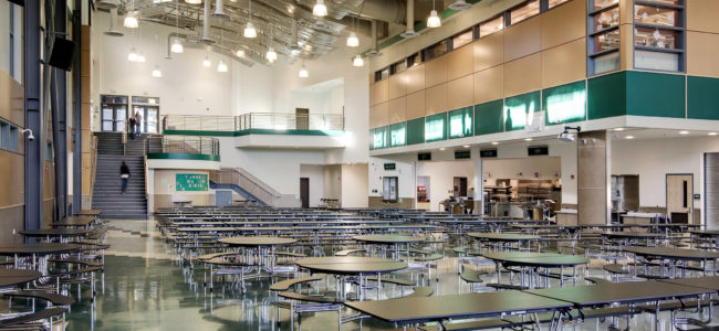 Woodinville High School Cafeteria