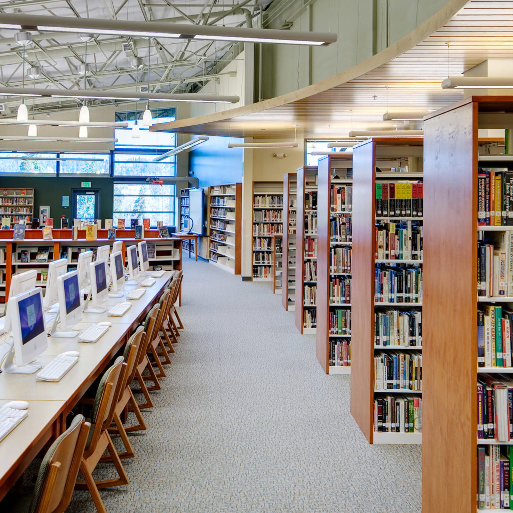 Woodinville High School Library