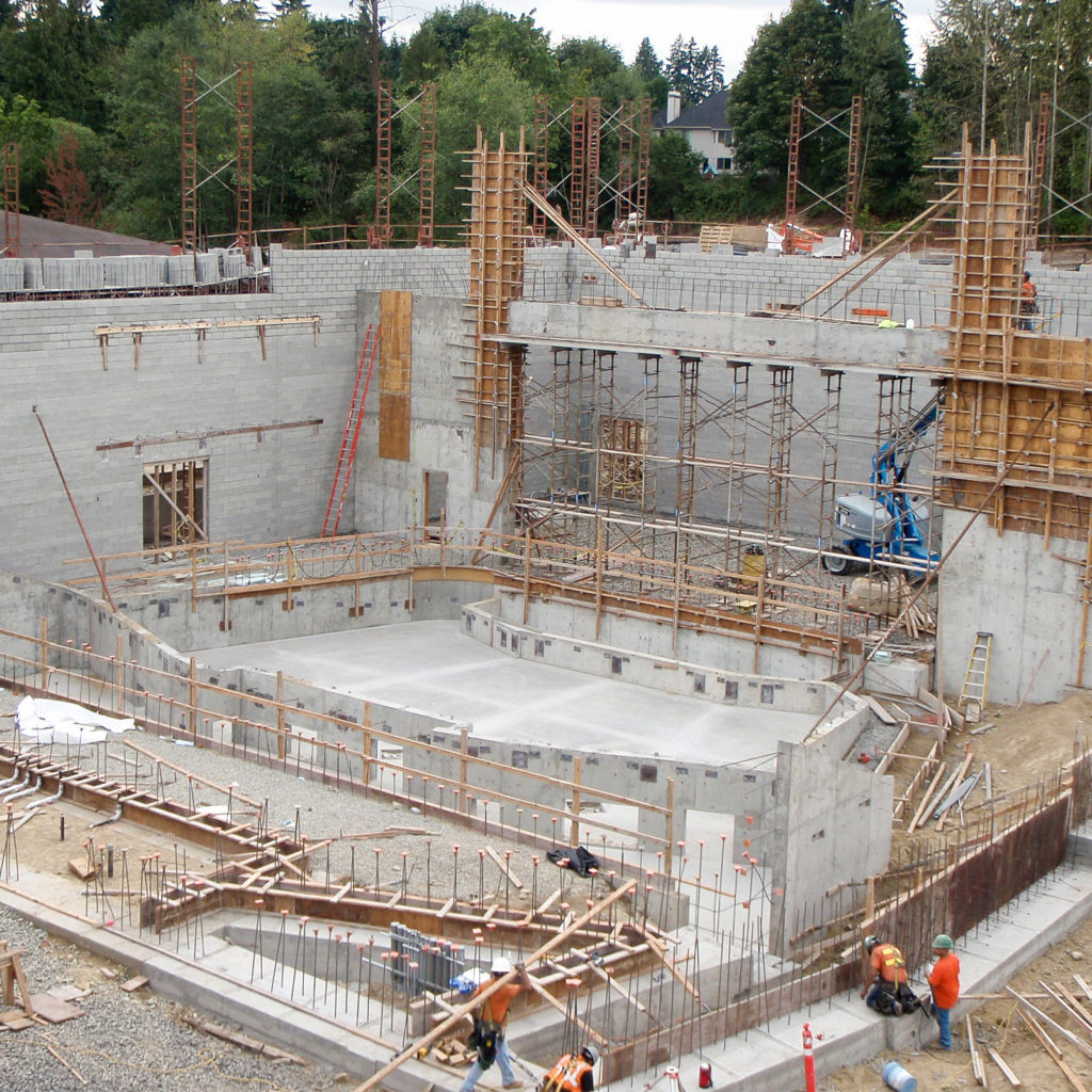 Woodinville High School Theater Construction