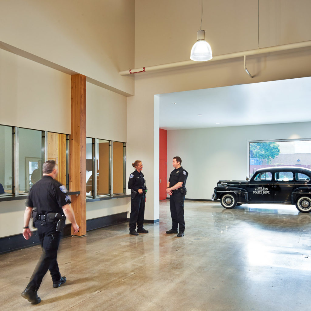 Kirkland Public Safety Building Lobby