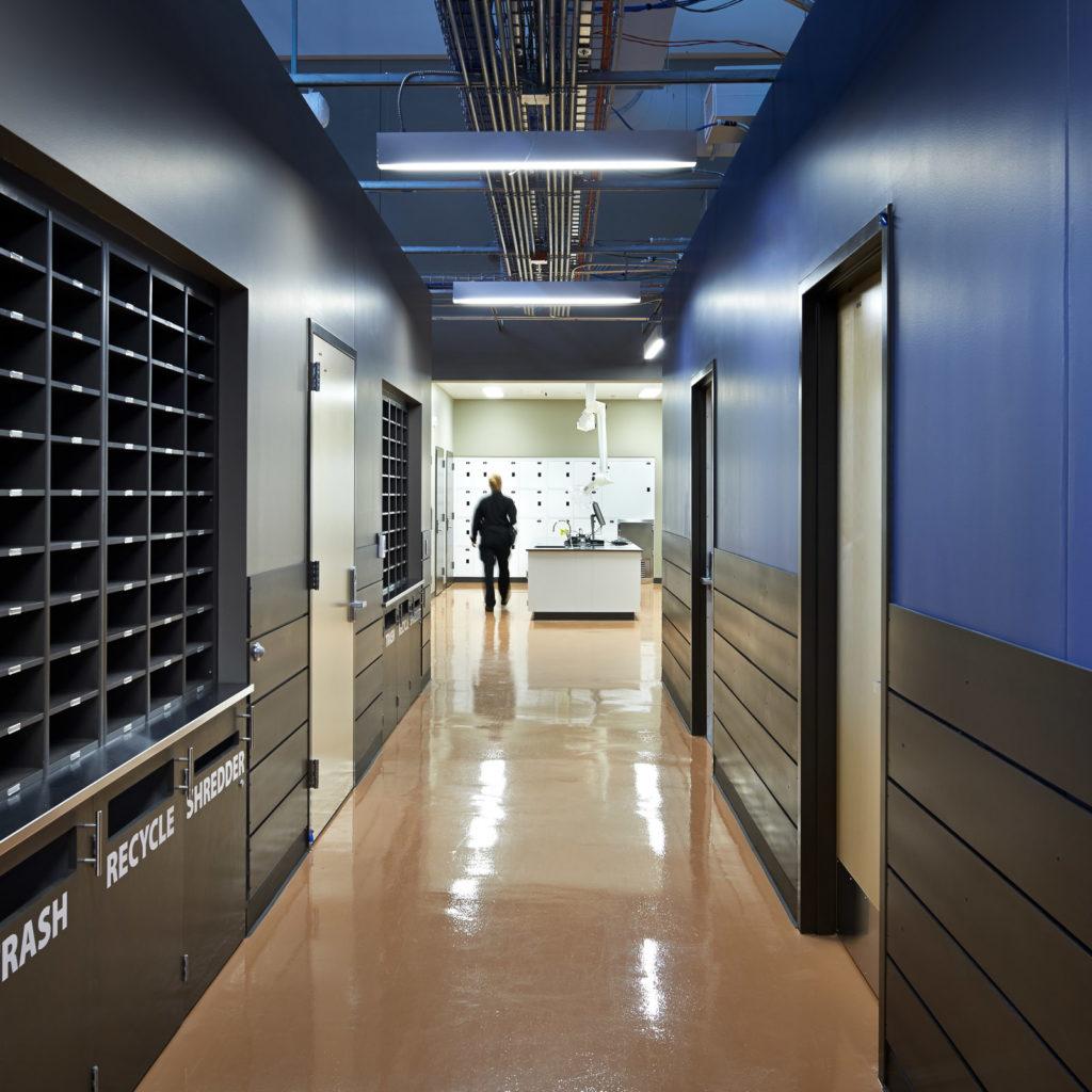 Kirkland Public Safety Building Police Station Mailroom