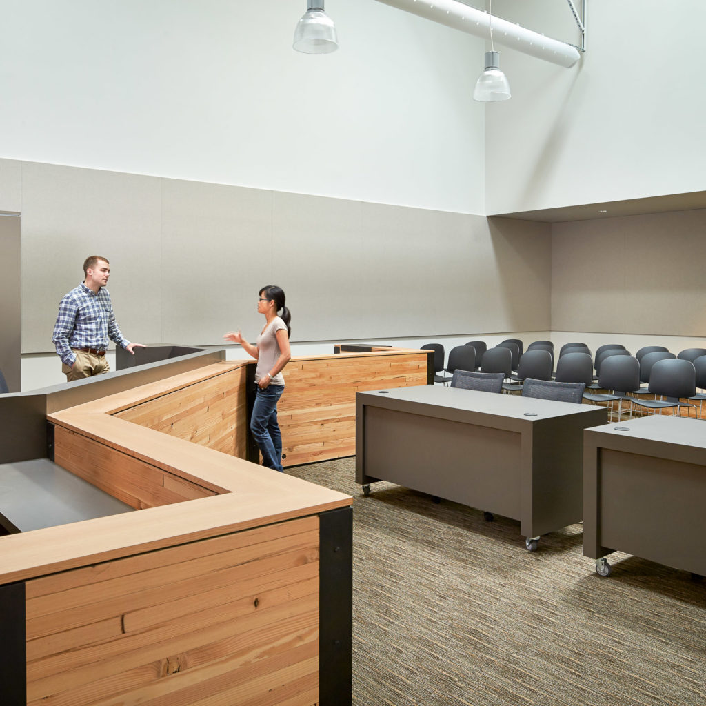 Kirkland Public Safety Building Courtroom
