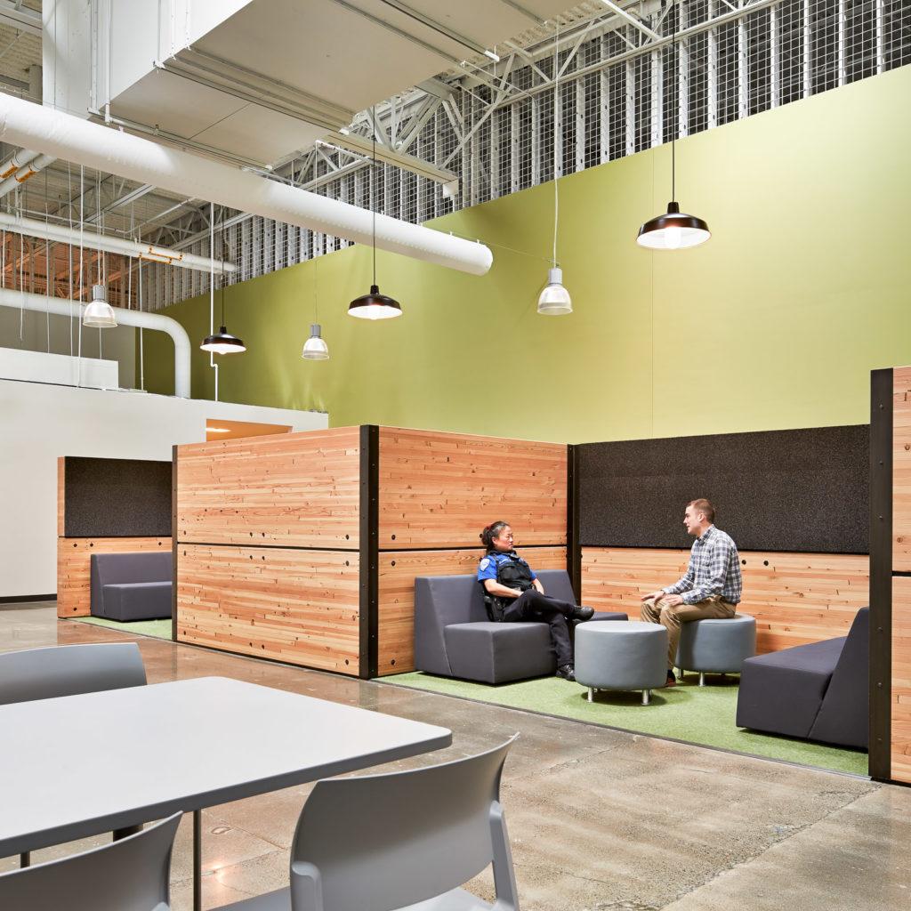 Kirkland Public Safety Building Lounge