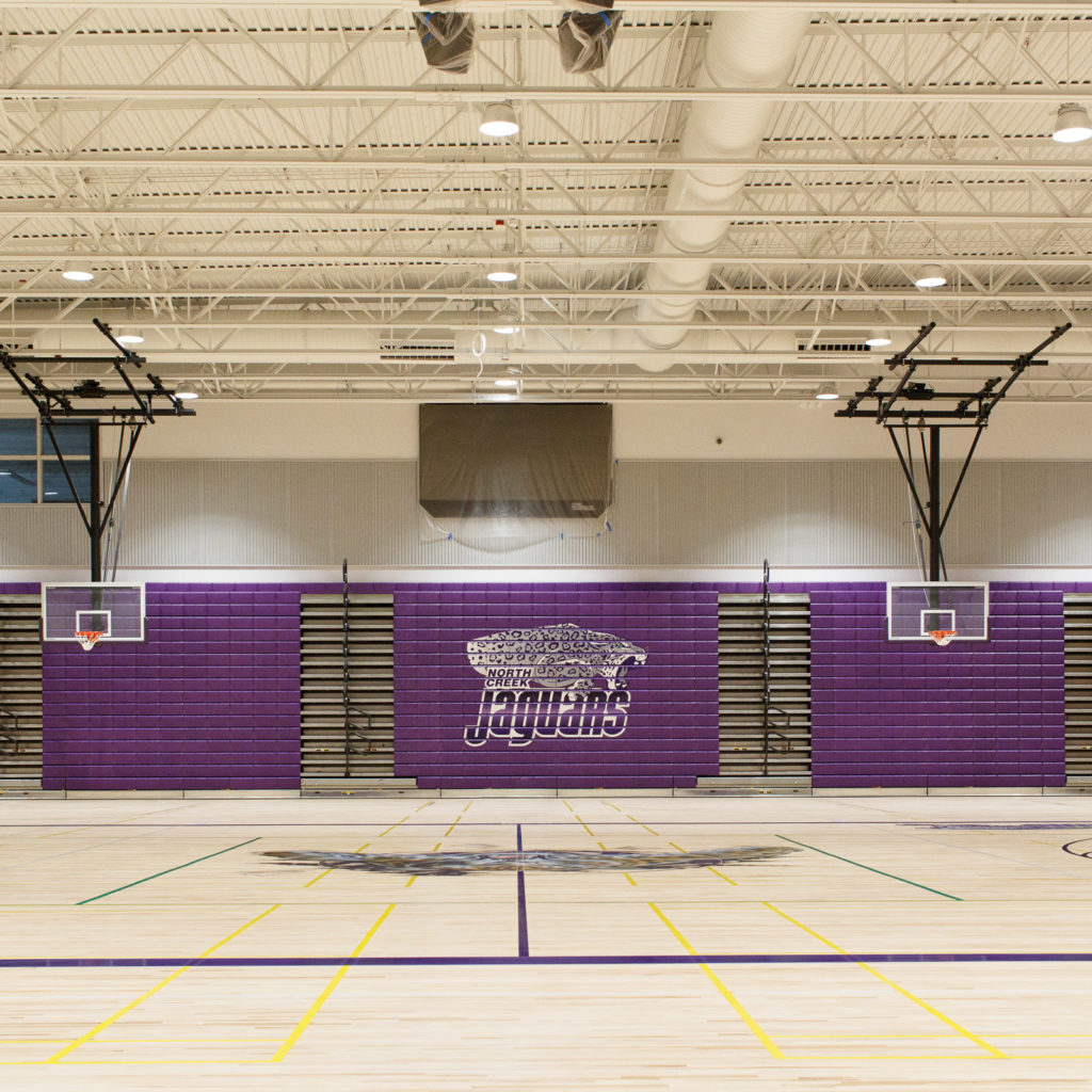 North Creek High School Gymnasium