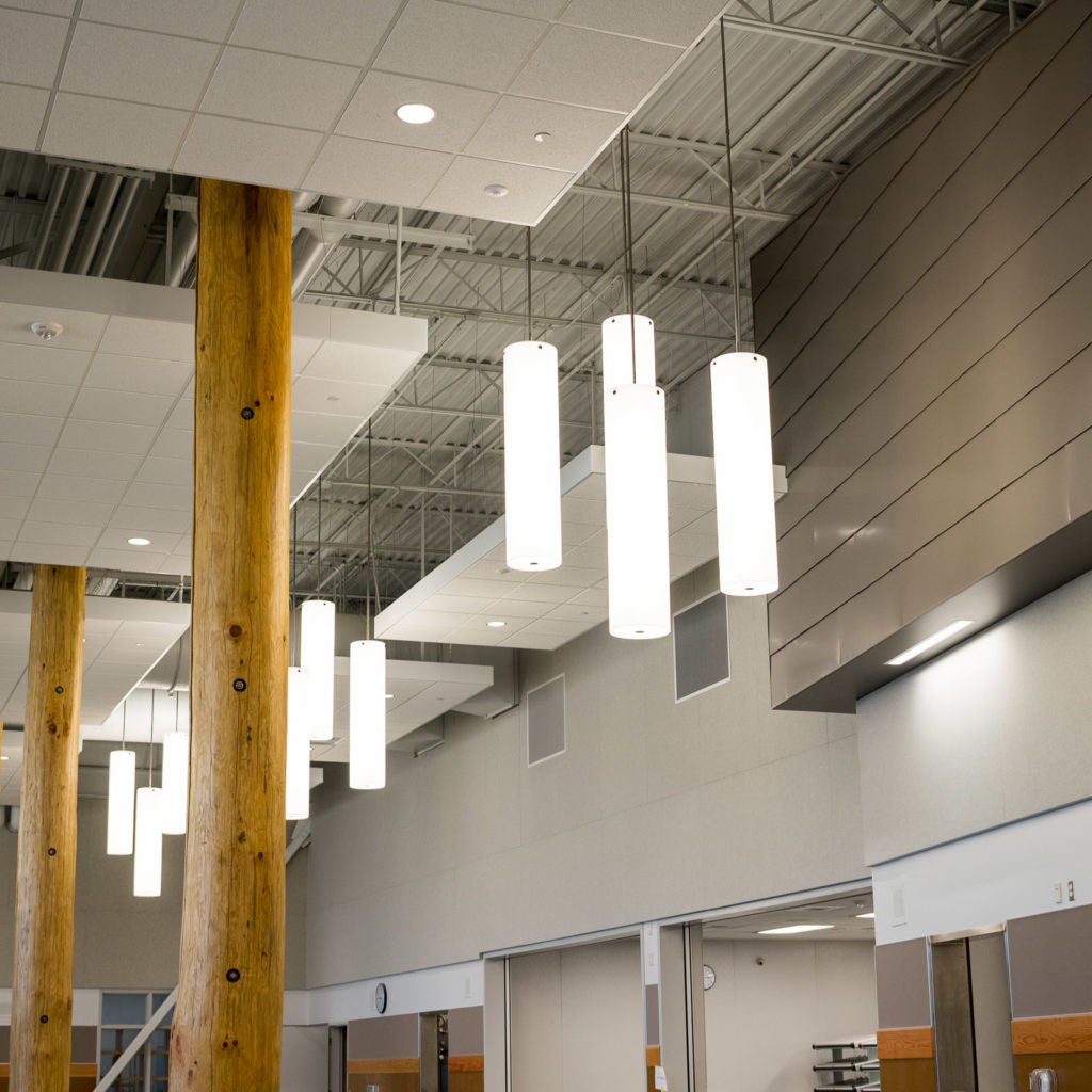 North Creek High School | Foyer Lighting