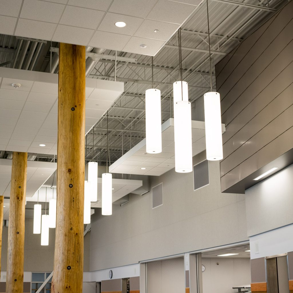 North Creek High School Foyer Lighting