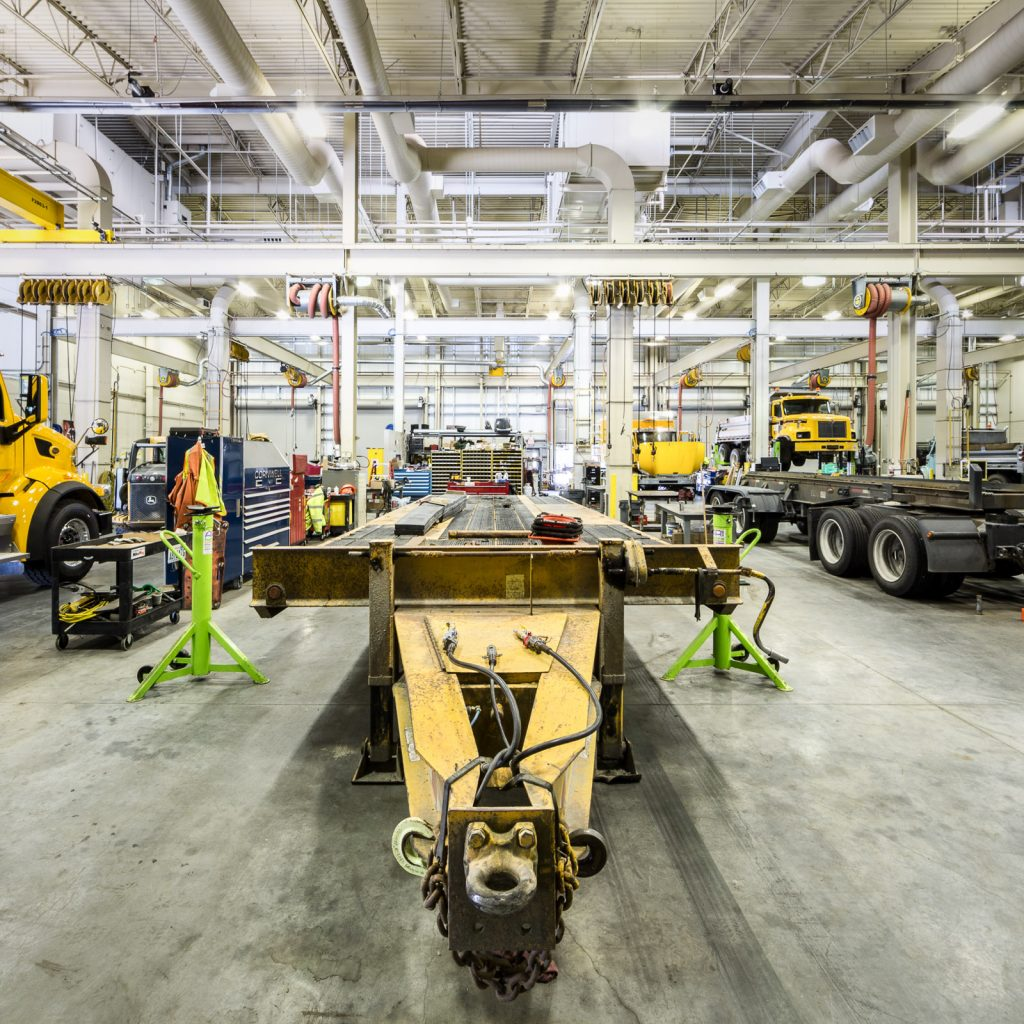 Cathcart Maintenance Facility Repair Shop