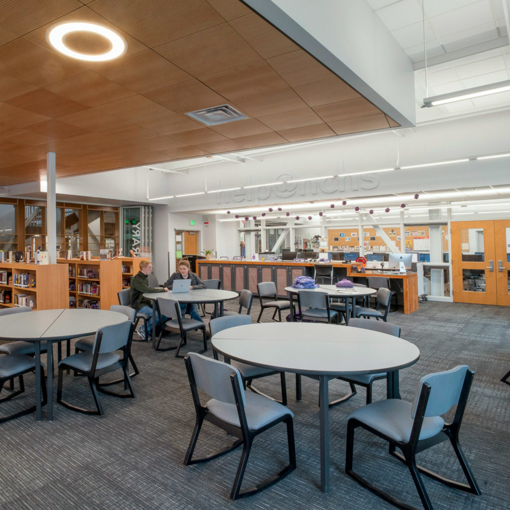 North Creek High School | Library