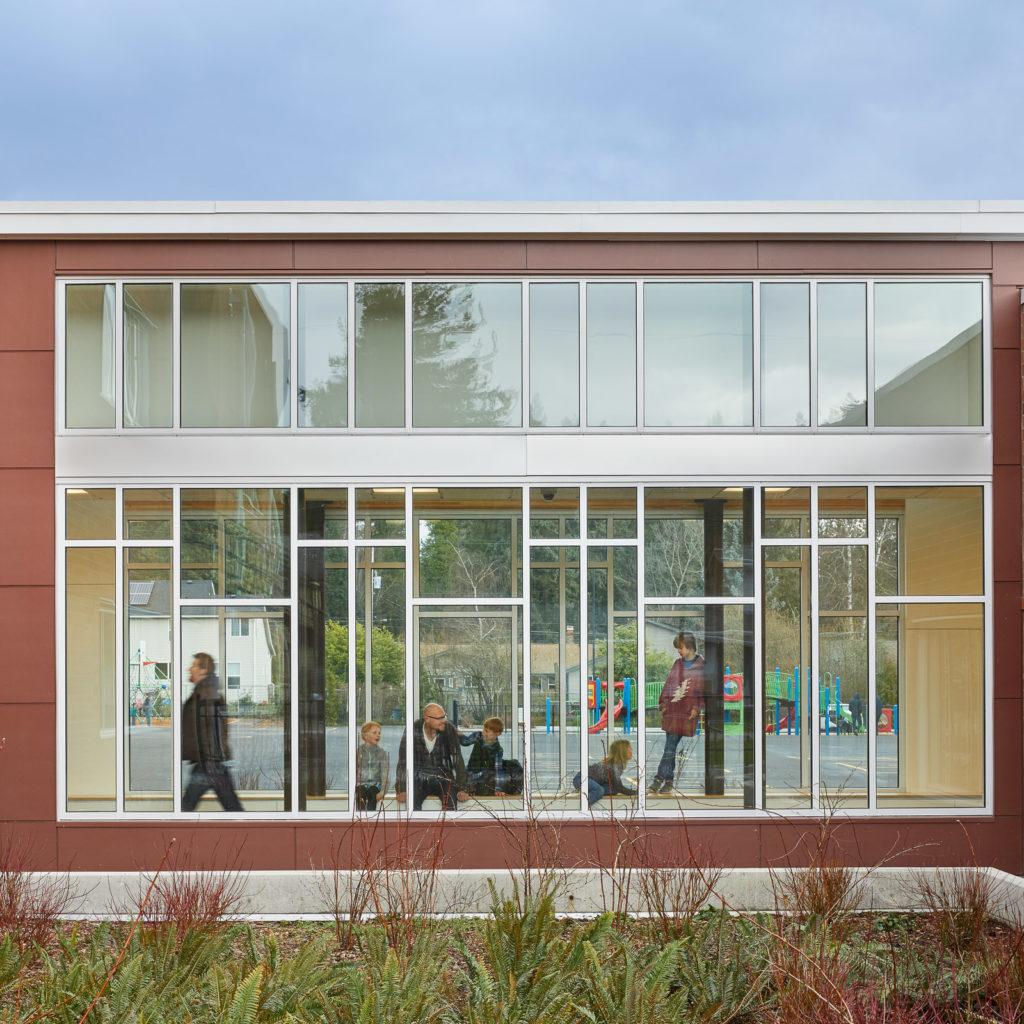 Olympic Hills Elementary School Connecting Corridor