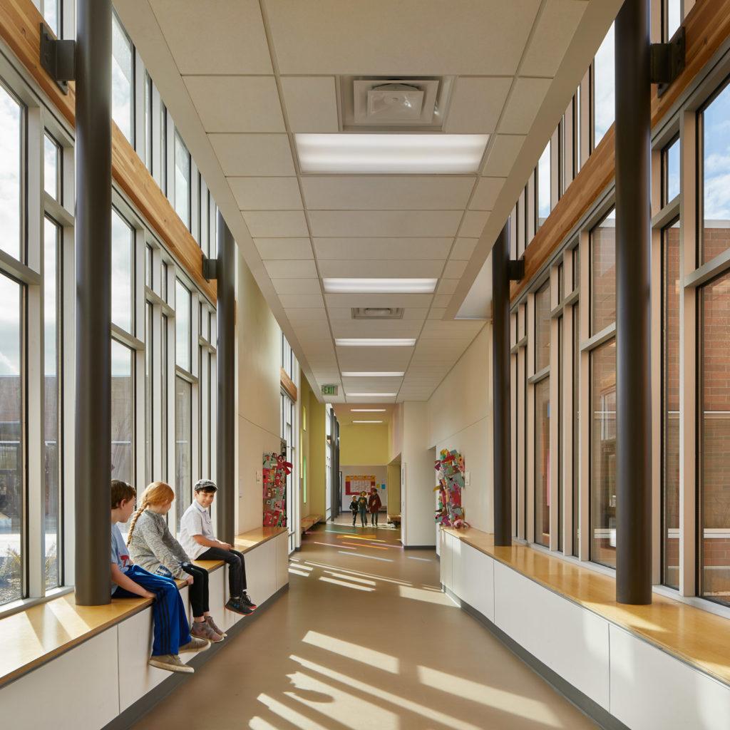 Olympic Hills Elementary School | Connecting Corridor