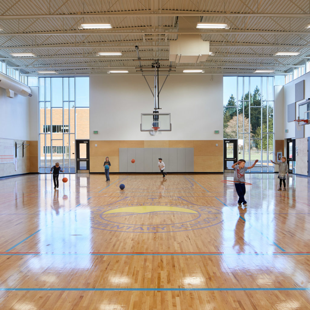 Olympic Hills Elementary School Gymnasium