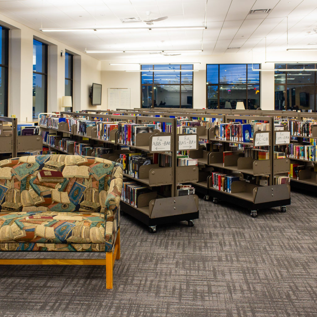 Pine Lake Middle School Library