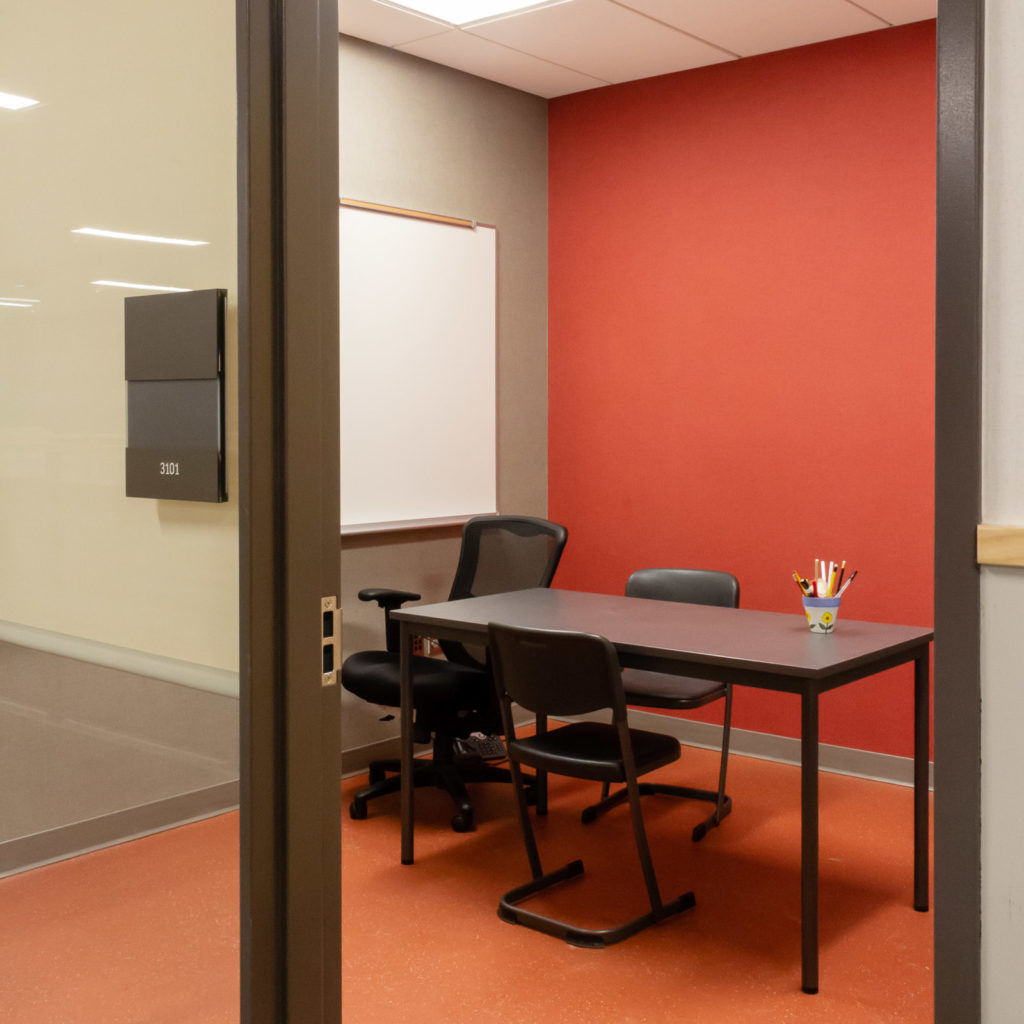 Pine Lake Middle School Private Study Room