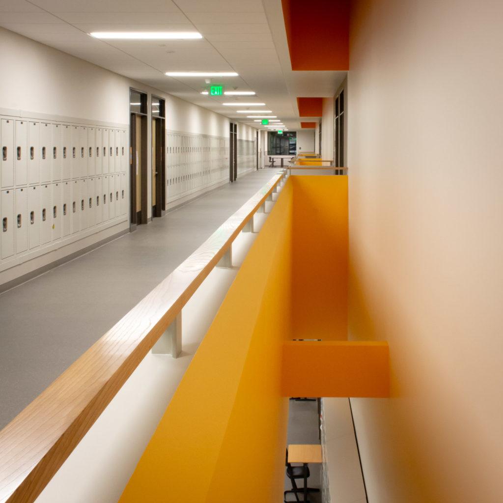 Pine Lake Middle School Hallway