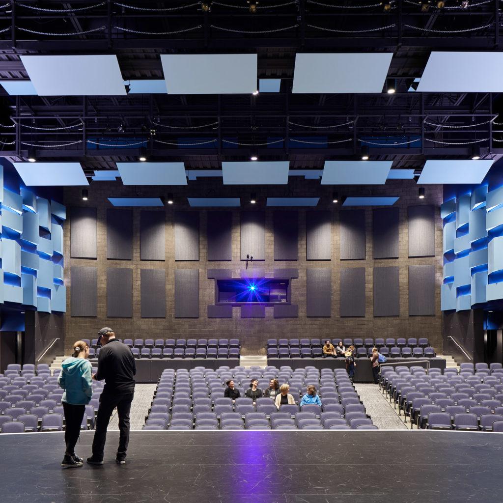 The Juanita High School Performing Arts Theater.