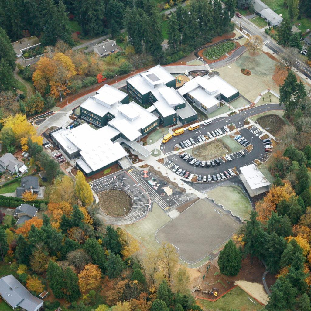Alexander Graham Bell Elementary Aerial View, November 2013
