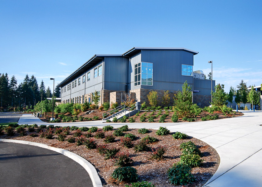 Bothell High School Building