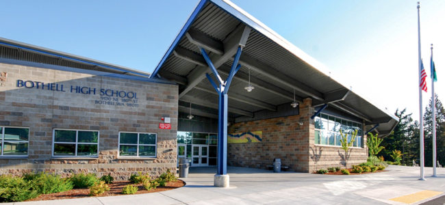 Bothell High School Main Entrance