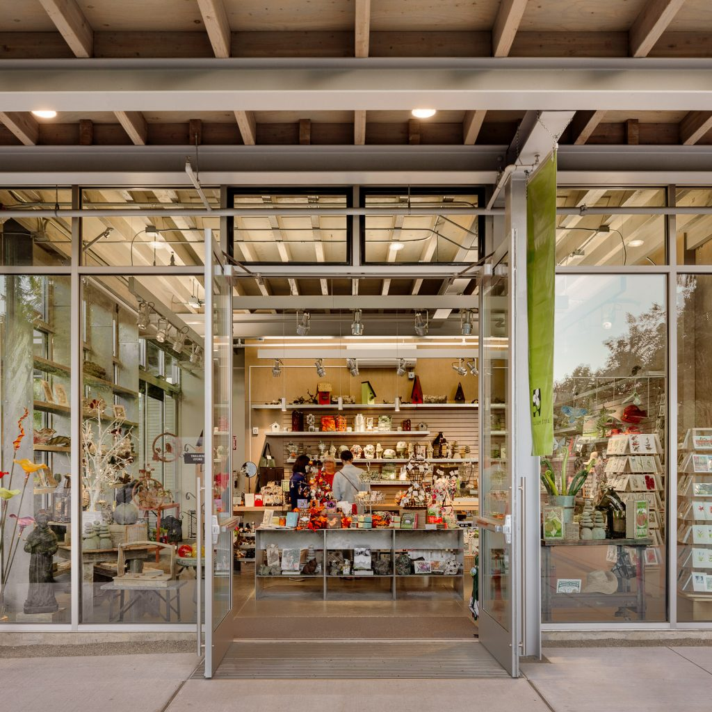The Bellevue Botanical Garden Gift Shop