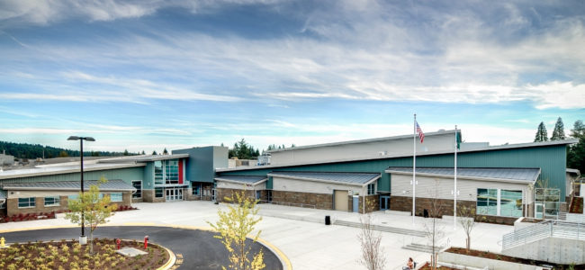 Woodinville High School Building
