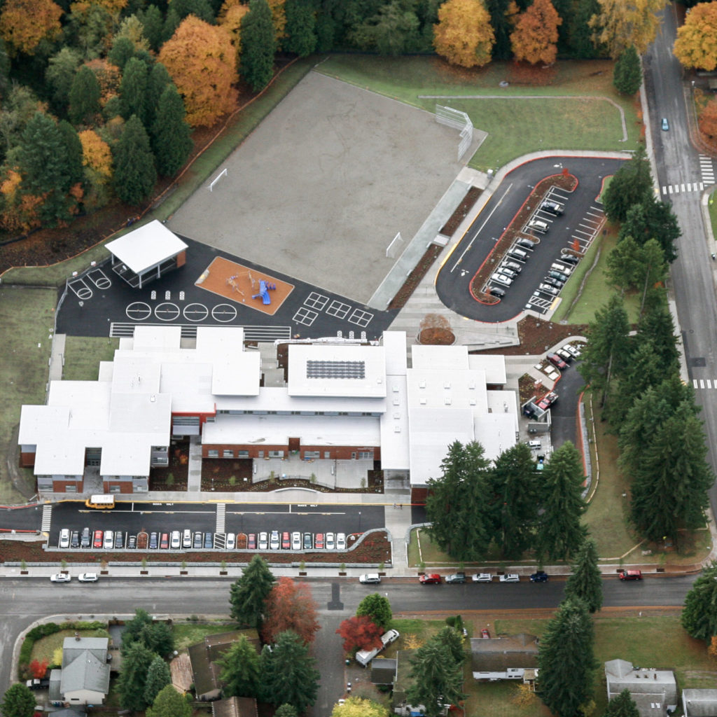 Helen Keller Elementary Aerial View, November 2012