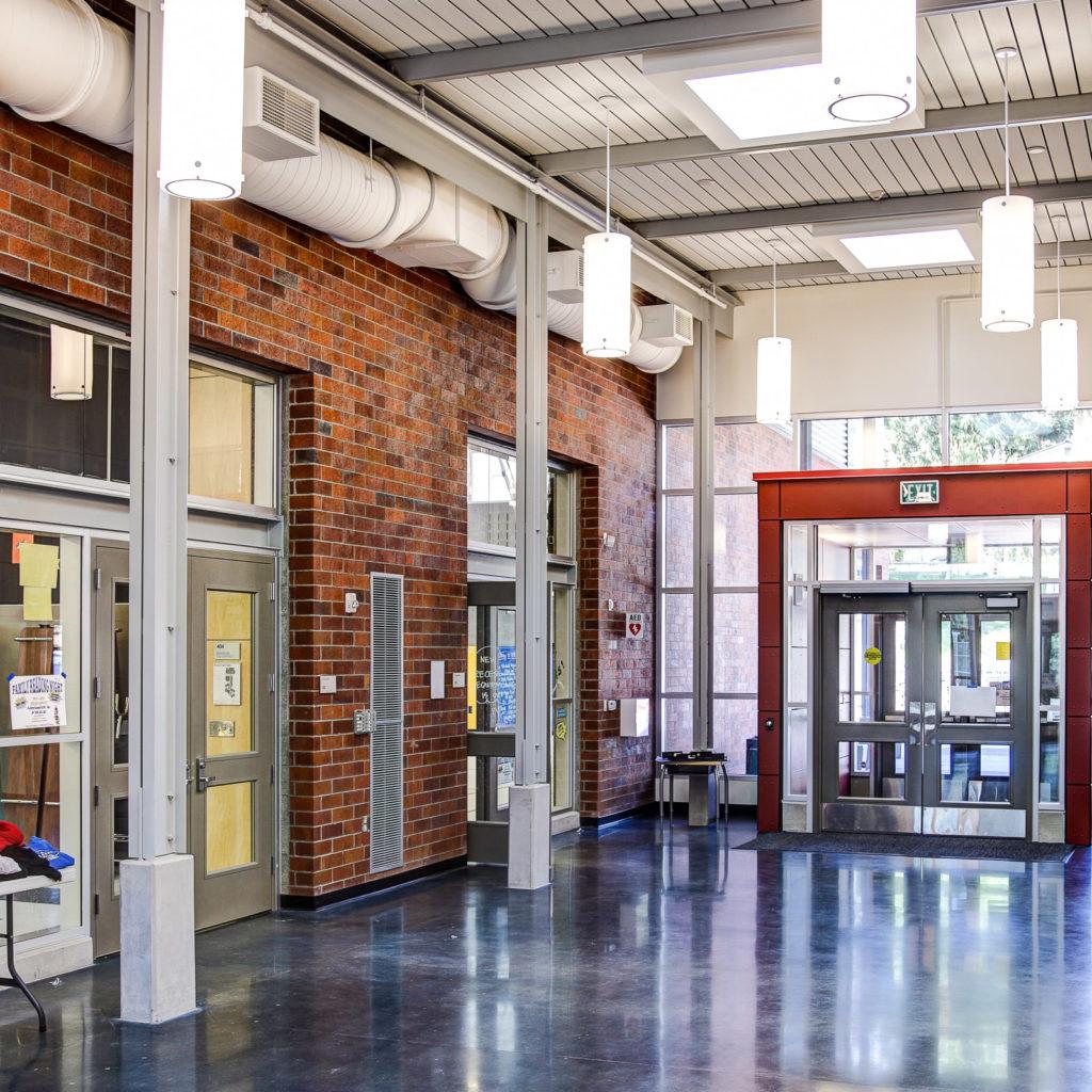 Helen Keller Elementary Entryway