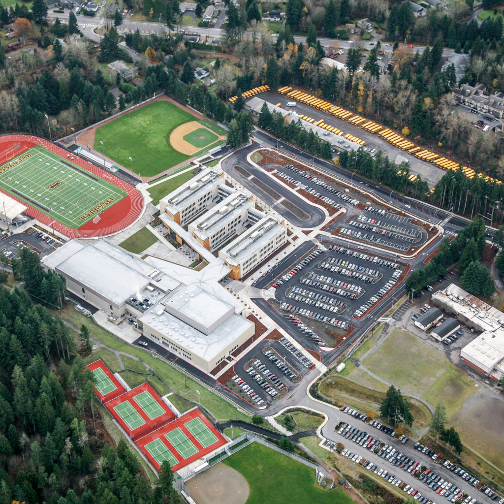 Issaquah High School | Aerial View, December 2011