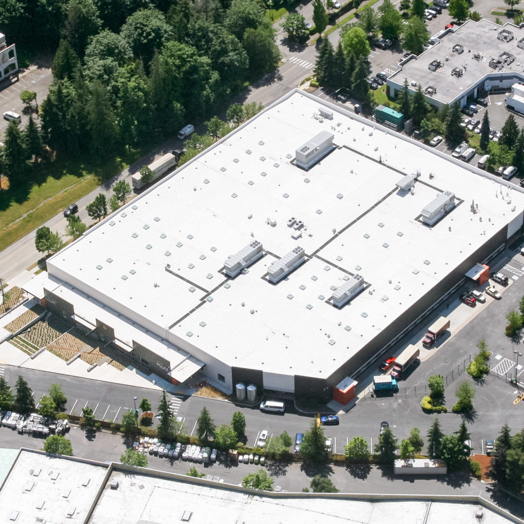 Kirkland Public Safety Building Aerial View, June 2014
