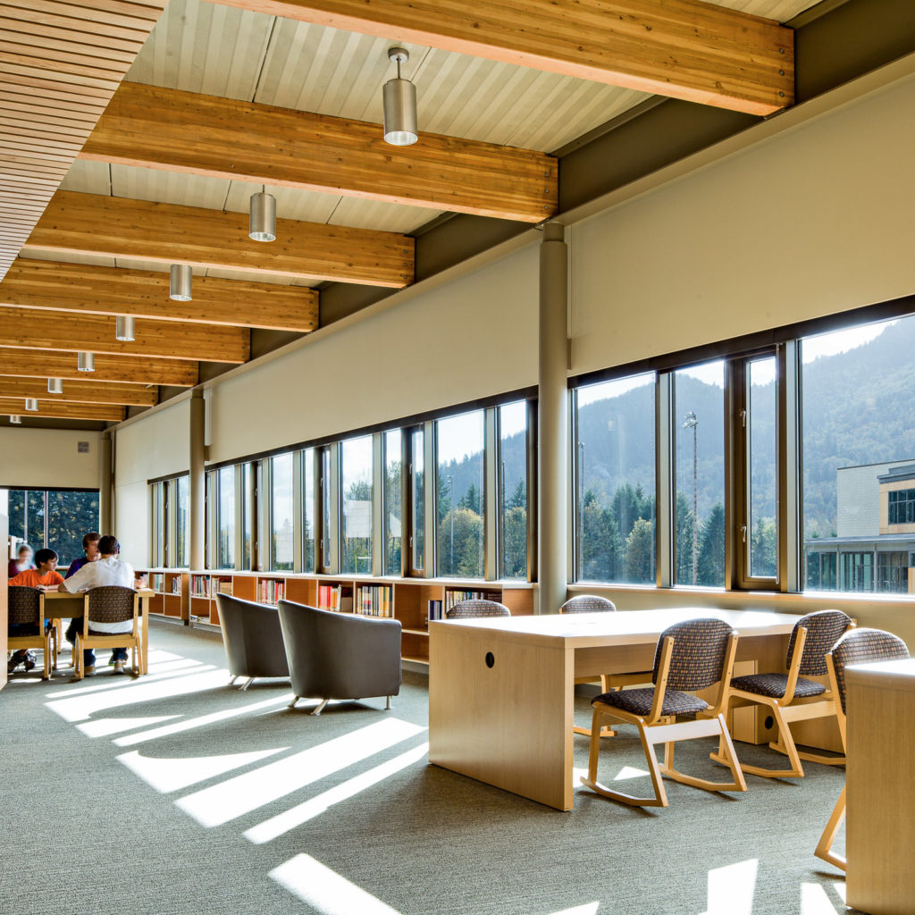 Issaquah High School Library