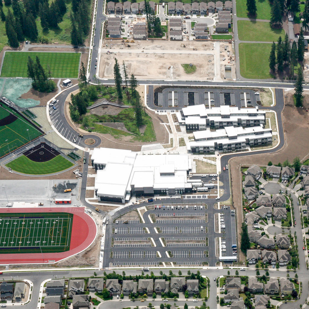 North Creek High School Aerial View, June 2016