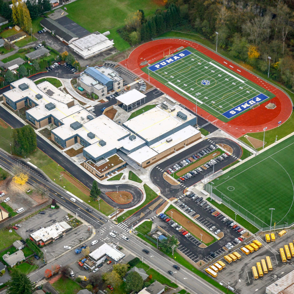 Park Place Middle School | Aerial View, November 2018