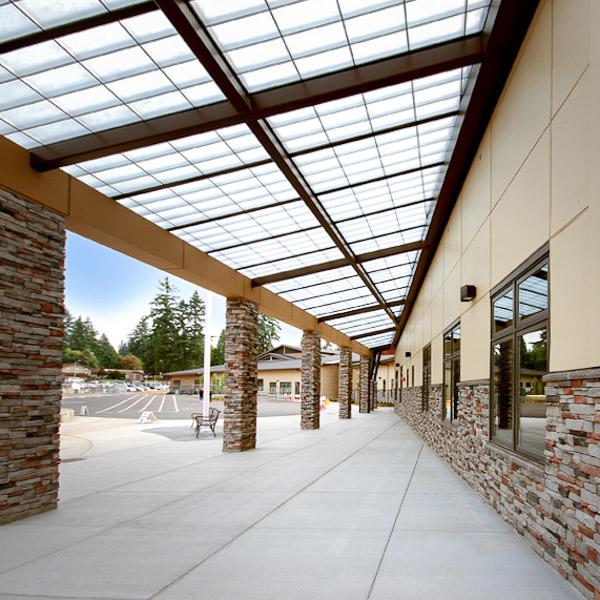 Robert Frost Elementary Exterior Corridor