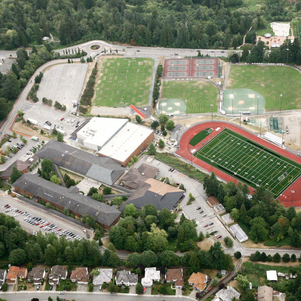 Woodinville High School Aerial View, September 2009