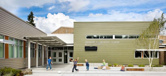 Ardmore Elementary School Main Entry