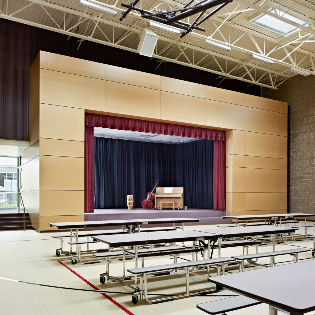 Ardmore Elementary School Performance Space
